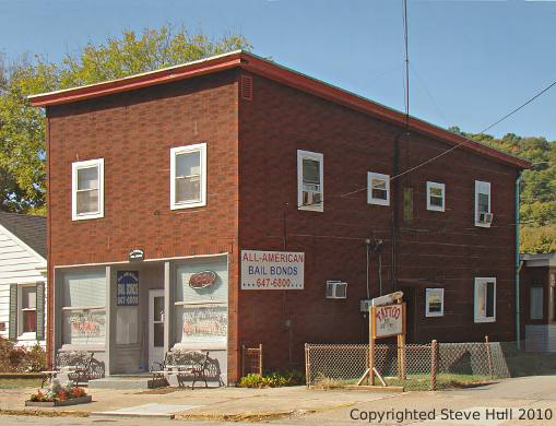 Old building at 320 Main street in Brookville Indiana