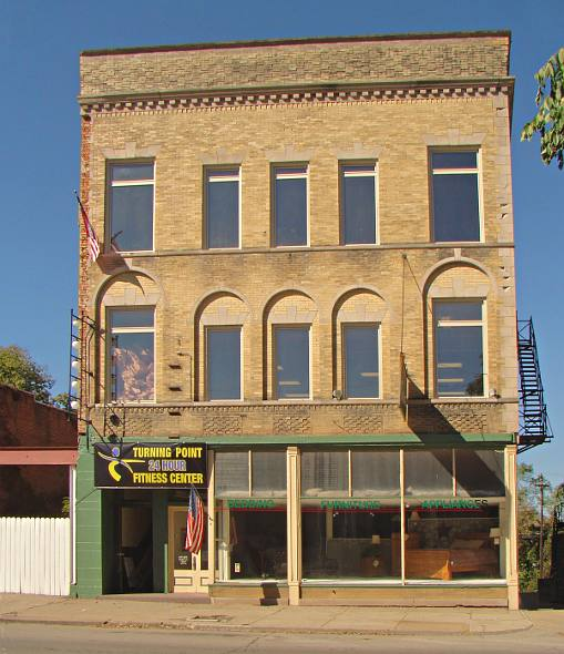 Building at 734 North Main in Brookville Indiana