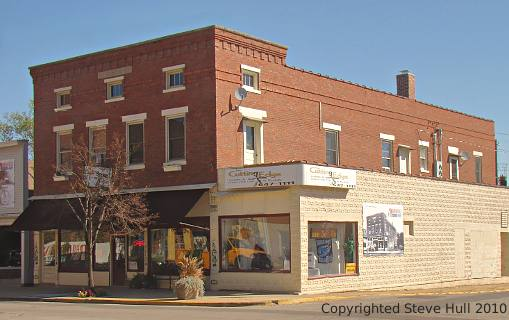 Buildings at 7th & Main in Brookville Indiana