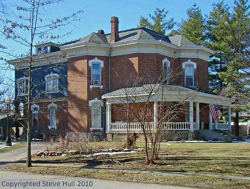 Italianate house in Greenfield