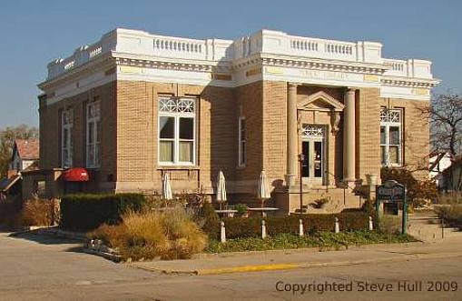 Old Carnegie library in Greenfield Indiana