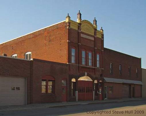 Old city building in Greenfield Indiana