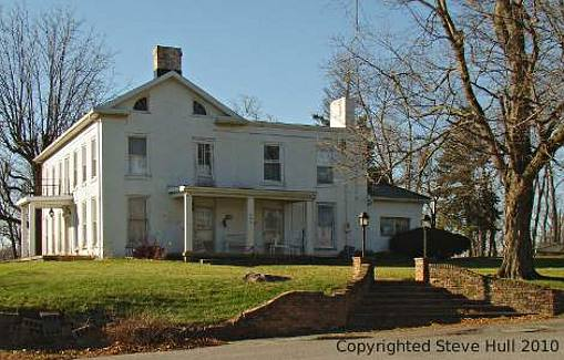 Federal house in Knightstown Indiana