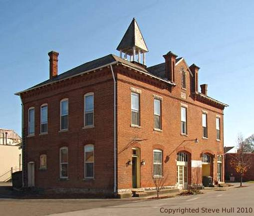 Old town hall in Knightstown Indiana