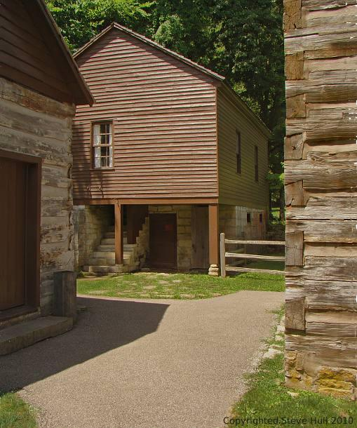 Pioneer school at Spring Mill village