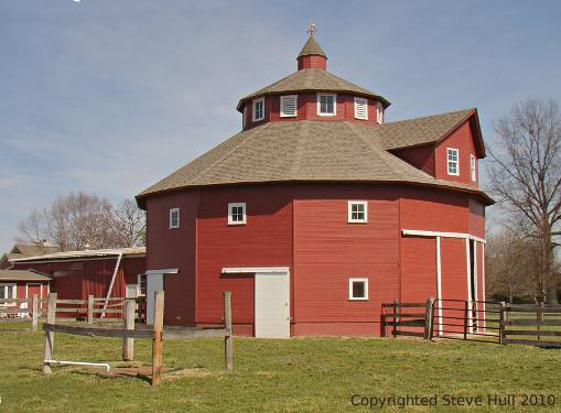 Octagonal barns in indiana for Barn house indiana