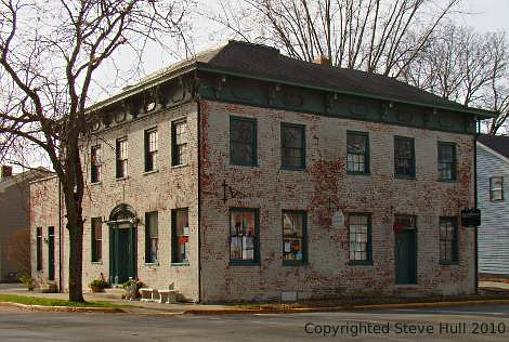Italianate commercial building in Pendleton Indiana