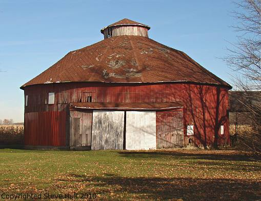 Madison county indiana for Barn house indiana
