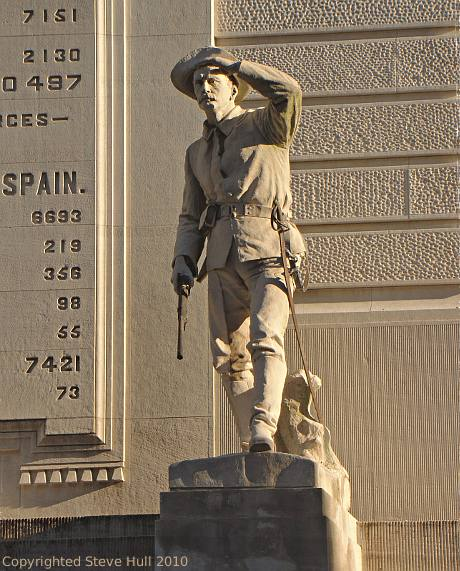Soldiers & Sailor's monument in Indianapolis