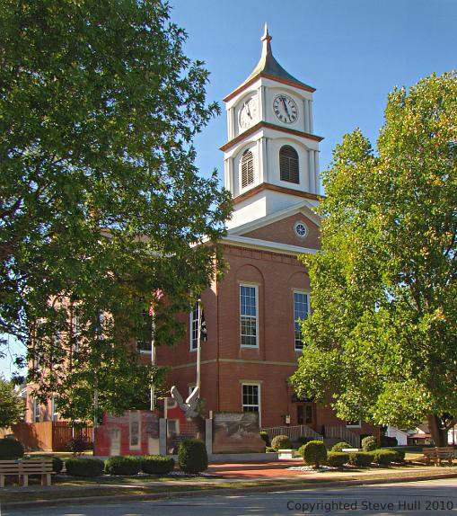 Ripley county Indiana courthouse