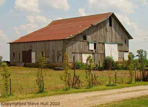 Rush county indiana for Barn house indiana