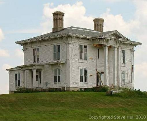 James Muray house in Rush county Indiana