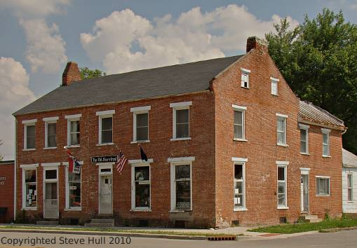Federal Styled Commercial Building Dublin Indiana