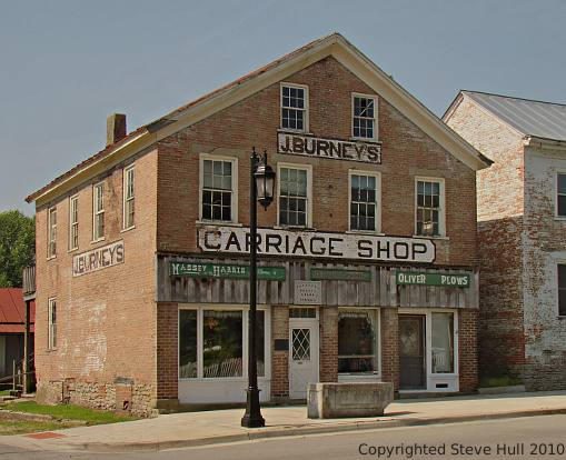 J. Burney's Carriage Shop in Dublin Indiana